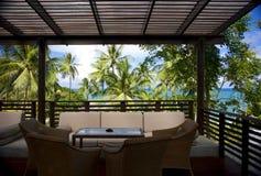 Hotellsemesterort i Thailand Royaltyfri Bild