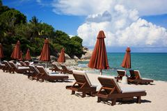 Hotellsemesterort i Thailand Royaltyfri Fotografi