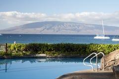 Hotellsemesterort på Hawaii Royaltyfria Bilder