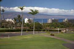 Hotellsemesterorter på Hawaii Royaltyfria Bilder