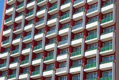 hotellstjärna för facade fem Royaltyfria Bilder