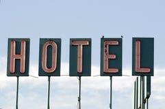 hotelltecken Royaltyfria Bilder
