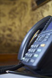Hotelltelefon Arkivbild