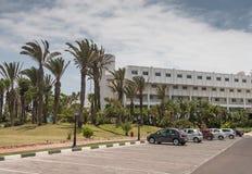 Hotellterritorium Royaltyfria Bilder