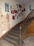 Hotelltrappa Royaltyfri Bild