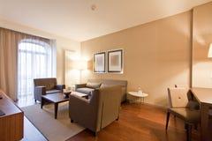 Hotellvardagsrum Royaltyfri Foto