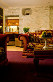 hotellvardagsrumfölje Royaltyfri Fotografi