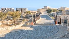 Hotelowa Beresheet geneza w Izrael pustynia negew Obrazy Royalty Free