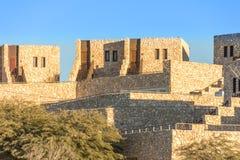 Hotelowa Beresheet geneza w Izrael pustynia negew Obrazy Stock