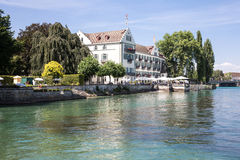 Hotelowa Dominicans wyspa Constance, Niemcy Fotografia Stock