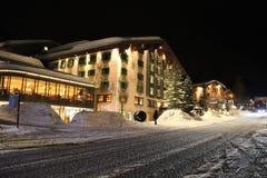 Hotelowa Gasthof poczta, Lech jest Arlberg obraz stock