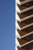 Hotelowa panorama, Sistani, architektury ilustracja fotografia royalty free