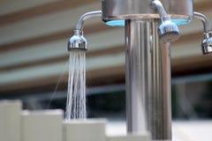 Hotelowa prysznic zdjęcia royalty free