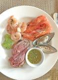 Hotelowa restauracyjna karmowa catering usługa, bufet lub koktajlu bankiet dla ślubnych ceremonii, konwersatoria, spotkania, konf obrazy royalty free