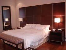 Hotelowa sypialnia Zdjęcie Stock
