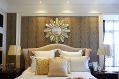Hotelowa sypialnia Zdjęcia Stock