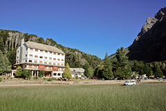 hotelowe luksusowe góry Zdjęcia Stock