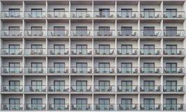 Hotelowego mieszkania tekstury balkonowy wzór zdjęcia stock