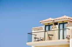 hotelowi balkonowi wakacje Obrazy Royalty Free