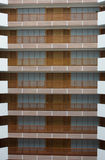 Hotelowi balkony zdjęcia royalty free