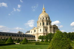 hotelowi Des invalides Paris Obrazy Stock