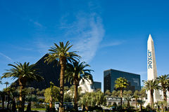 hotelowi las Luxor Vegas Zdjęcia Royalty Free