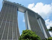 Hotelowi Marina zatoki piaski w Singapur zdjęcia stock