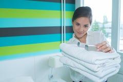 Hotelowi toiletries ustawiający zdjęcie royalty free
