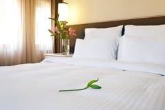 Hotelowy łóżko