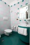 Hotelowy łazienki wnętrze Obraz Royalty Free