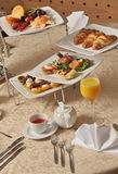 Hotelowy śniadanie obrazy royalty free