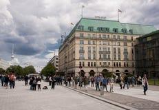 Hotelowy Adlon w Berlin Zdjęcie Royalty Free