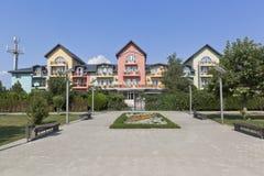 Hotelowy ` Anapa Lazurnaya ` w kurort wiosce Dzhemete, Anapa Obrazy Royalty Free