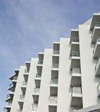 Hotelowy balkon. Zdjęcie Royalty Free