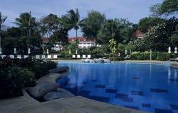 hotelowy basen Zdjęcie Stock