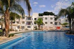 hotelowy basen Obrazy Royalty Free