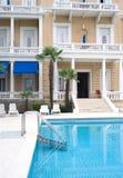 hotelowy basen Fotografia Royalty Free