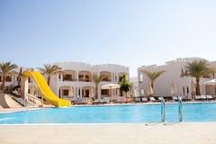 hotelowy basen Fotografia Stock