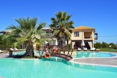 Hotelowy basen Zdjęcie Royalty Free