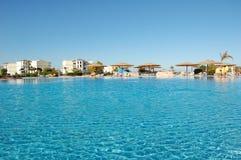 hotelowy basen Zdjęcia Royalty Free