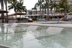 hotelowy basen piękno płynie bardzo Zdjęcie Stock