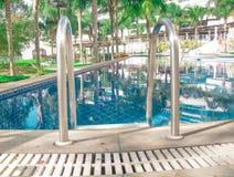 hotelowy basen piękno płynie bardzo Fotografia Stock