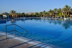 Hotelowy basen w Egipt zdjęcie royalty free