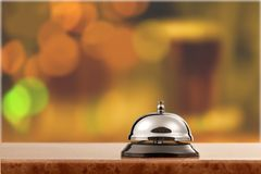 Hotelowy Bell Obraz Royalty Free