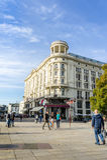 Hotelowy Bristol w Krakowskie Przedmiescie, Warszawa Zdjęcie Stock