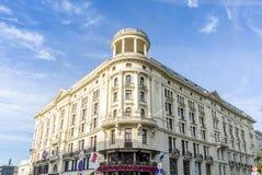 Hotelowy Bristol w Krakowskie Przedmiescie, Warszawa Fotografia Stock