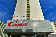 Hotelowy Capri - Hawański, Kuba Zdjęcie Royalty Free