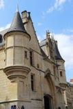 Hotelowy De Sens &-x28; Forney Library&-x29; Zdjęcia Royalty Free