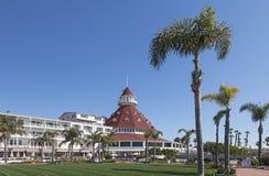 Hotelowy Del Coronado, San Diego Zdjęcie Royalty Free
