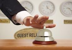 Hotelowy dzwon obrazy royalty free